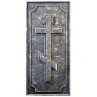 Пластиковые формы «Надгробная плита с крестом»л