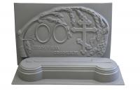 Пластиковые формы для Памятника №001-2 «Для двоих c тумбой»