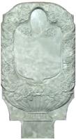 Пластиковые формы для Памятника №009 «Венок»