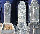 Пластиковые формы для комплекта Памятник №010