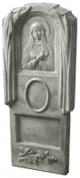 Пластиковые формы для Памятника №016 «Богородица малая»