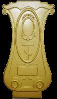 Пластиковые формы для Памятника №039 «Тюльпан №2»