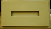 Пластиковые формы «Тумба под памятник с отверстием» №2