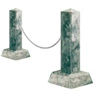 Пластиковые формы «Оградка» (комплект №2)