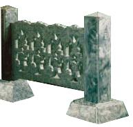 Пластиковые формы «Оградка» (комплект №1)