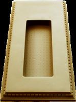 Пластиковые формы «Подиум под цветник» (Малый)