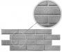 Пластиковые формы  ДК ФП «12 кирпичей(шагрень)»/л