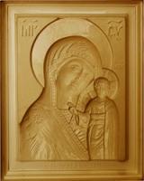 Пластиковые формы Икона «Казанская Пресвятая Богородица»