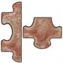 Пластиковые формы «Концевики к плитке Пазлы»