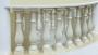 Пластиковые формы Перила и основание для балясин радиусные