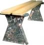 Пластиковые формы «Скамейка №2»