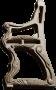 Пластиковые формы «Лавка» №2