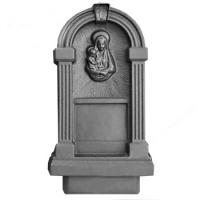 Пластиковые формы «Памятник №42 (с богоматерью)»л