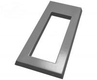 Пластиковые формы «Фундаментная плита под памятник №2 (сухарь)»л
