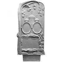 Пластиковые формы «Памятник №46 (с берёзой на две персоны)»л